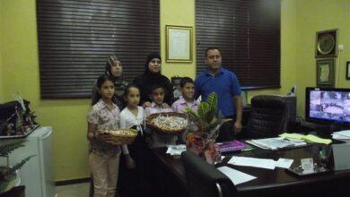Photo of سفراء مفتاح القلب بزيارة معايدة لطلاب التربية الخاصة.