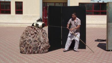 Photo of عرض مسرحيّة الصّيّاد والسّمكة الذّهبيّة ضمن مشروع الاثراء.