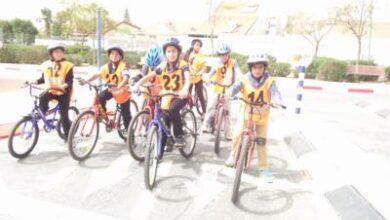 Photo of رحلة لصفوف الخامس الى مركز الارشاد في بئر السبع ضمن الركوب الامن على الدراجات الهوائية