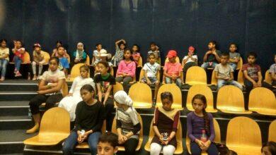 Photo of الصفوف الخامسة والسادسة في زيارة كلية القاسمي.