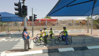 Photo of رحلة لصفوف الخامس الى مركز الارشاد في بئر السبع ضمن الركوب الامن على الدراجات الهوائية.