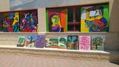 Photo of مدرسة النجاح تنظم يوم الفن والقيادة بالاشتراك مع طلاب الفنون في كلية كي.