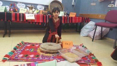 Photo of احتفال للتراث البدوي في مؤسّسة النّجاح التربوية.