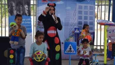 Photo of فرقة ملاك الطفولة تقدم عرض لطلاب مؤسسة النّجاح التربوية.
