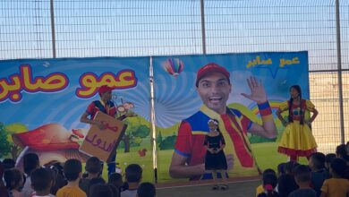 Photo of عمو صابر يزور مدرسة النجاح الابتدائية عرعرة النقب